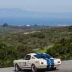 View from Laguna Seca on track with Ford Mustang
